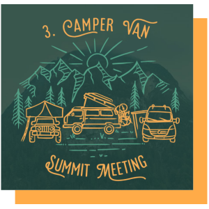 CVSM Camper Van Summit Meeting Tirol Leutasch Österreich Camping All inclusive Treffen Vanlife Event Veranstaltung Festival Outdoor Wohnmobil Kastenwagen Dachzelt