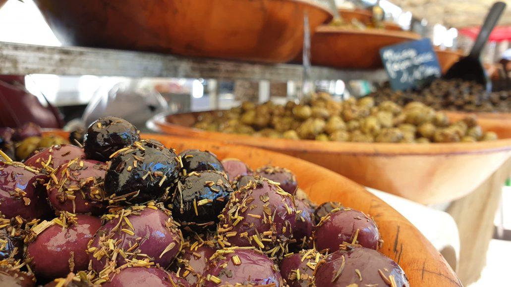 ...französischen Oliven