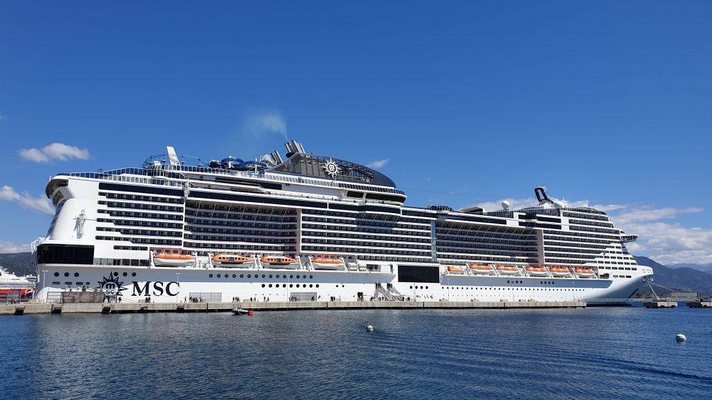 Unser Schiff die MSC Meraviglia